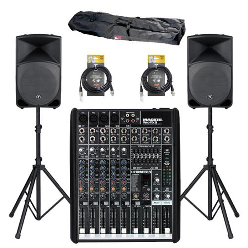 pa sound system for rent
