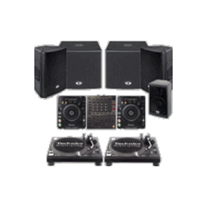 full dj system for rent